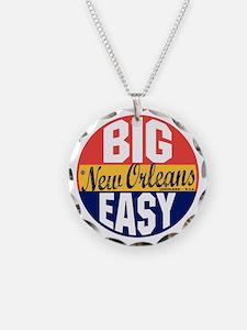 New Orleans Vintage Label B Necklace