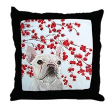 SQLite Crabapples Throw Pillow