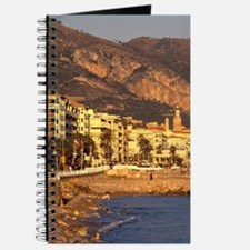 Europe, France, Cote D'Azure, Menton. Coas Journal