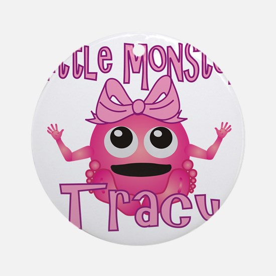 tracy-g-monster Round Ornament