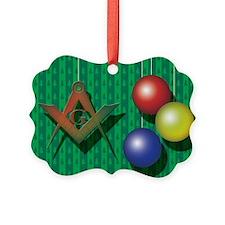 xmas tree card copy Ornament