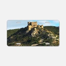 The Chateau dAguilar Cathar Aluminum License Plate