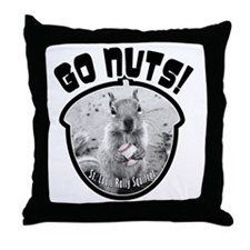 rally-squirrel-02_go-nuts_05 Throw Pillow