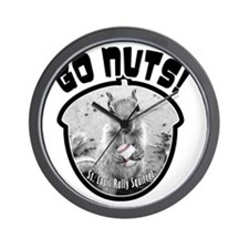 rally-squirrel-02_go-nuts_05 Wall Clock