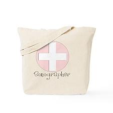 Sonographer pink Tote Bag