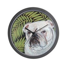 Mouse Fern Wall Clock