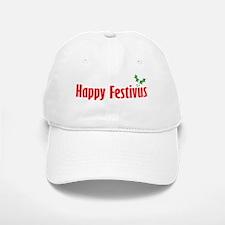 happy-FESTIVUS™-lot-of-problems-black Baseball Baseball Cap