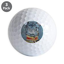 8x10 JacketBulldog Golf Ball