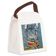 8x10 JacketBulldog Canvas Lunch Bag