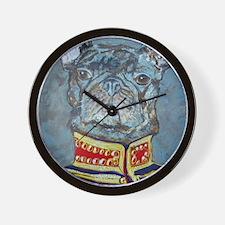 8x10 JacketBulldog Wall Clock
