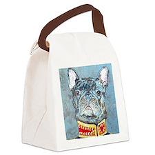 SQLite JacketBulldog Canvas Lunch Bag