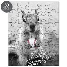 5x3oval_vert_rally-squirrel_03 Puzzle