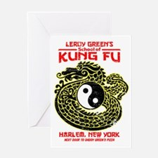 LeroyGreensKungFu Greeting Card