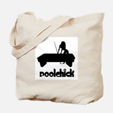 PoolChick Logo Tote Bag
