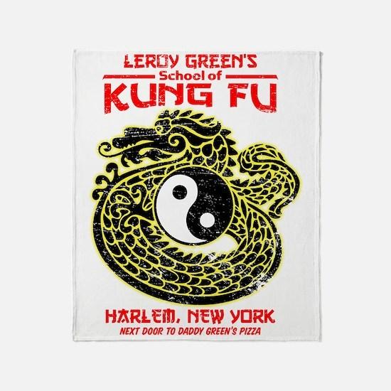 LeroyGreensKungFu Throw Blanket