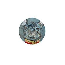 SQ  Jacket Bulldog Mini Button