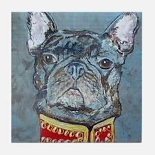SQ  Jacket Bulldog Tile Coaster