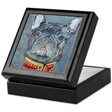SQ  Jacket Bulldog Keepsake Box