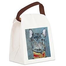 SQ  Jacket Bulldog Canvas Lunch Bag