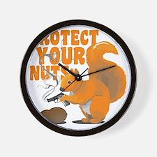protectyournuts Wall Clock