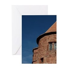 Wertheim. Local redstone ruins of th Greeting Card