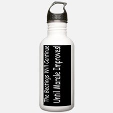 funny the beatingsdbut Water Bottle