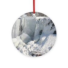 Bridal Veil Falls Ornament (Round)