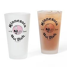 Hot Dish_tee Drinking Glass