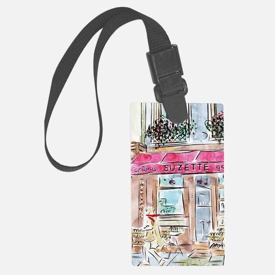 AWP_CafePress_CrepesSuzette_10x1 Luggage Tag