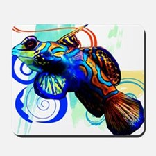 Mandarin Dragonet Mousepad