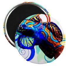 Mandarin Dragonet Magnet