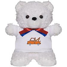 Vintage Tow Truck Teddy Bear