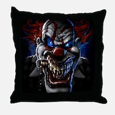 my clown Throw Pillow