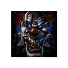 "my clown Square Sticker 3"" x 3"""