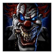 "my clown Square Car Magnet 3"" x 3"""