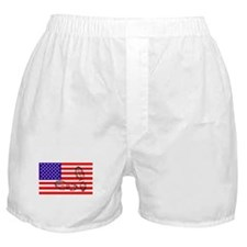 USSA American Police State Boxer Shorts