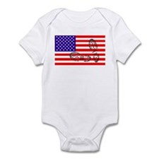 USSA American Police State Infant Bodysuit