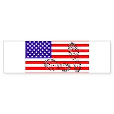 USSA American Police State Bumper Bumper Sticker