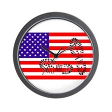 USSA American Police State Wall Clock