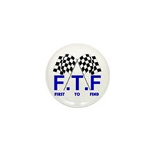 FTF B&W Mini Button