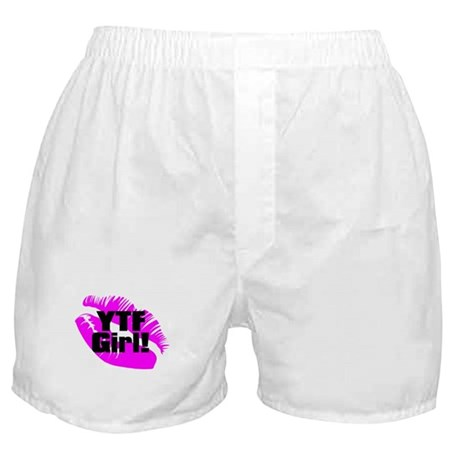 Yes They're Fake! Lipprint Logo Boxers