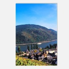 Beautiful Rhine River and Postcards (Package of 8)