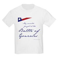 Battle of Gonzales Kids T-Shirt