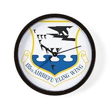 155th Air Force Refueling Wall Clock