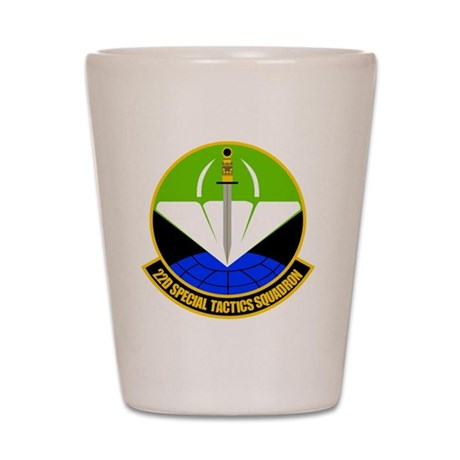 22nd Special Tactics Squadron Shot Glass