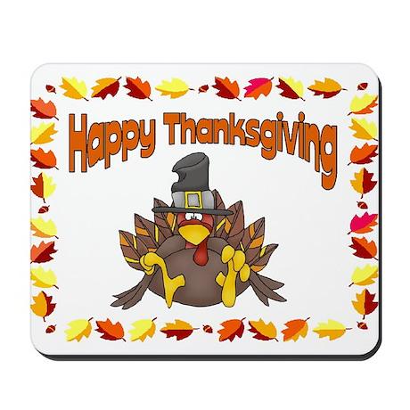 Happy Thanksgiving Mousepad