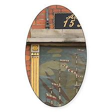 Seamen's tavern, Lubeck, germany Decal