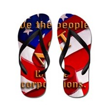 we people Flip Flops