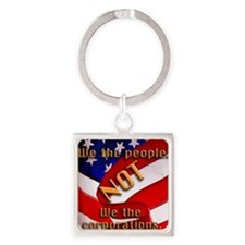 we people Square Keychain
