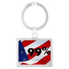 99% Landscape Keychain
